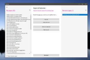 Bloatbox – Apps und SystemApps unter Windows 10 deinstallieren