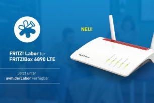 FRITZ!Box 6890 LTE nun auch mit einem Labor Update