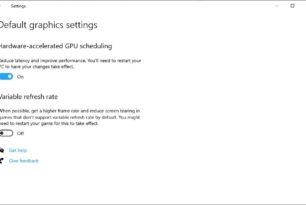 Hardware-beschleunigte GPU-Planung – Microsoft gibt Hintergrund-Infos