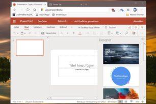 Über .new einfach eine neue Playlist, Word, Excel und vieles mehr öffnen