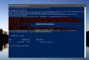Backup der Aufgaben aus der Aufgabenplanung mit PowerShell erstellen / sichern