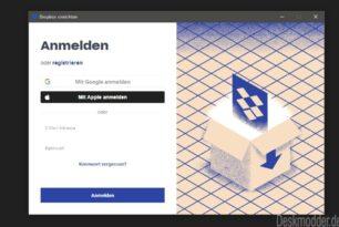 Dropbox als neue App im Microsoft Store