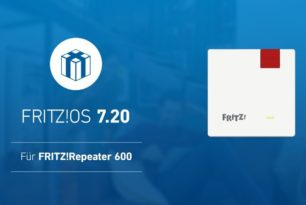 FRITZ!Repeater 600 bekommt FRITZ!OS 7.20