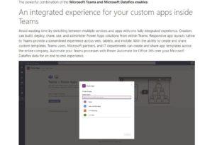 Microsoft schafft es doch immer wieder – Dataflex als Markennamen gibt es schon