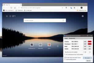 Microsoft Edge Dev 86.0.601.1 mit neuen Funktionen und mehr