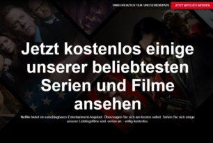 Auf Netflix lassen sich jetzt Filme oder Folgen von Serien kostenlos anschauen