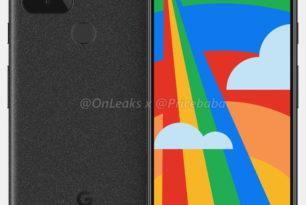 Google Pixel 5: Render-Bilder landen im Netz