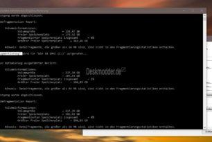 Windows 10 2004 / 20H2 Defrag-Bug nur zum Teil behoben. SSD wird weiterhin defragmentiert