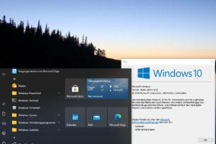In der Windows 10 2004 schon die neuen Funktionen der Windows 10 20H2 aktivieren
