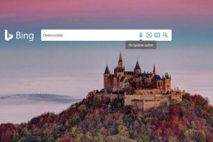 Bing kann nun auch per Sprache suchen