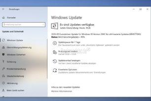 KB4577063 [Manueller Download] Windows 10 20H2 / 2004 19042.546 und 19041.546 [Jetzt für alle]