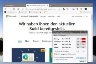 Microsoft Edge 87.0.644.4 ist im Dev Kanal erschienen