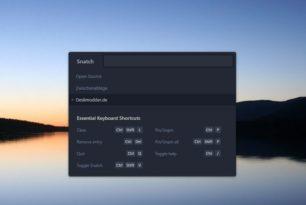 Snatch Zwischenablage-Manager als App (Open Source)