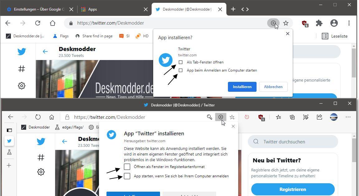 Google Chrome Autostart