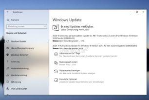 KB4580364 Windows 10 20H2 / 2004 [Manueller Download] 19042.610 / 19041.610 für alle