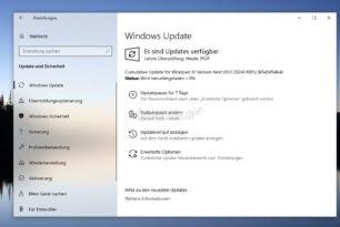 KB4589464 Windows 10 20241.1005 steht für die Insider im Dev Kanal bereit