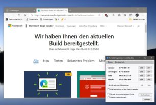 Microsoft Edge 87.0.658.0 im Dev Kanal mit weiteren neuen Funktionen