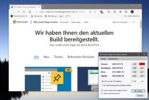 Microsoft Edge Dev 88.0.673.0 nun auch für Linux ganz offiziell