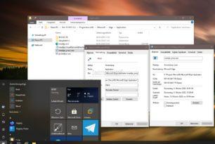 Windows 10: Office Apps im Startmenü durch den Microsoft Edge als PWA