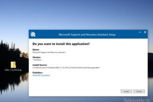 SaRA 17.00.5555.000 Microsoft Support and Recovery Assistant zur Diagnose und Fehlerbehebung