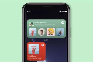 Spotify Update bringt Widgets auf iOS