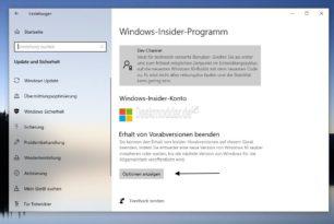 Windows 10 Insider – Endlich erklärt Microsoft den Erhalt von Vorabversionen beenden richtig