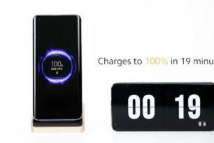 Xiaomi stellt 80 W kabelloses Laden vor
