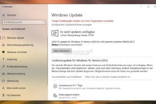 KB4023057 Kompatibilitätsupdate für Windows 10 2004 bis 1809 wurde aktualisiert November 2020