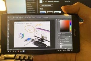Lumia 950 XL kann auch mit Photoshop ausgestattet werden – Bildschirm-Rotation funktioniert nun auch