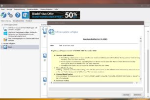 Macrium Reflect (Free) 7.3.5365 behebt Probleme in der Planung von Backups