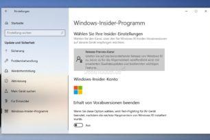 Windows 10: Welche Insider Version ist für mich die beste Version