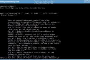 chkdsk /f Problem wurde behoben unter Windows 10 20H2 und Windows 10 2004  – Fehler seit 8 Monaten im System