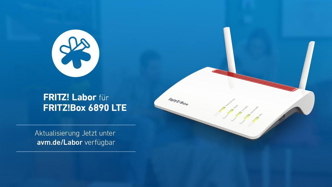 FRITZBox 20, 20 LTE und 20 LTE mit einem Labor Update auf ...