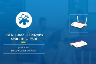 FRITZ!Box 7530, 6890 LTE und 6850 LTE mit einem Labor-Update auf die 7.24