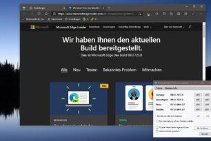 Microsoft Edge 89.0.723.0 im Dev Kanal – Erste Version 89 mit vielen neuen Funktionen