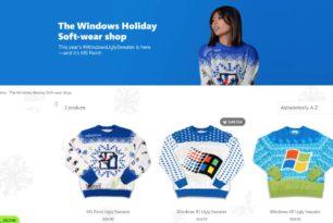 Microsoft verkauft wieder einen neuen Ugly Sweater