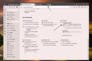 Vivaldi mit neuer Tab-Gruppen Funktion