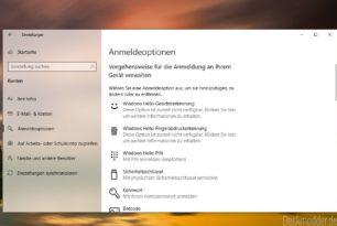 Windows 10: Über 84% nutzen Windows Hello zur Anmeldung