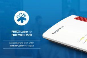 FRITZ!Box 7530 mit neuem Labor Update 7.24-85384 | 21.01.21