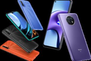 Redmi Note 9T & Redmi 9T: Zwei neue Smartphones offiziell vorgestellt