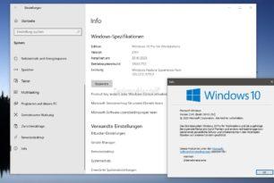 Windows 10 21H1 19043 schon jetzt aktivieren (freischalten)