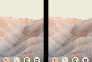 Android 12 in den ersten Screenshots zu sehen