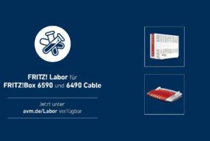 FRITZ!Box 6590 Cable & 6490 Cable erhalten Update auf 7.24 [Labor] | 01.02.2021