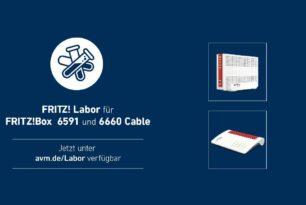 FRITZ!Box 6591 und 6660 Cable noch ein Labor Update | 9.04.2021