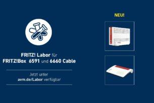 FRITZ!Box 6591 und 6660 Cable mit einem weiteren Labor-Update