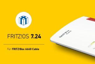FRITZ!OS 7.24 für die FRITZ!Box 6660 Cable steht zum Download bereit
