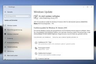 Windows 10 21H1 wird nun in der Beta automatisch verteilt