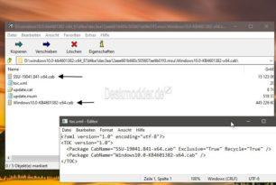 Windows 10 Kombiniertes Update (SSU+LCU) Fluch und Segen in einem