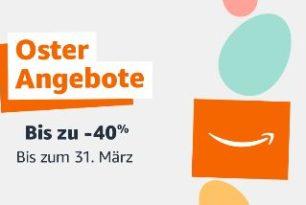 Amazons Oster-Angebote-Woche vom 22.März bis 31.März angekündigt