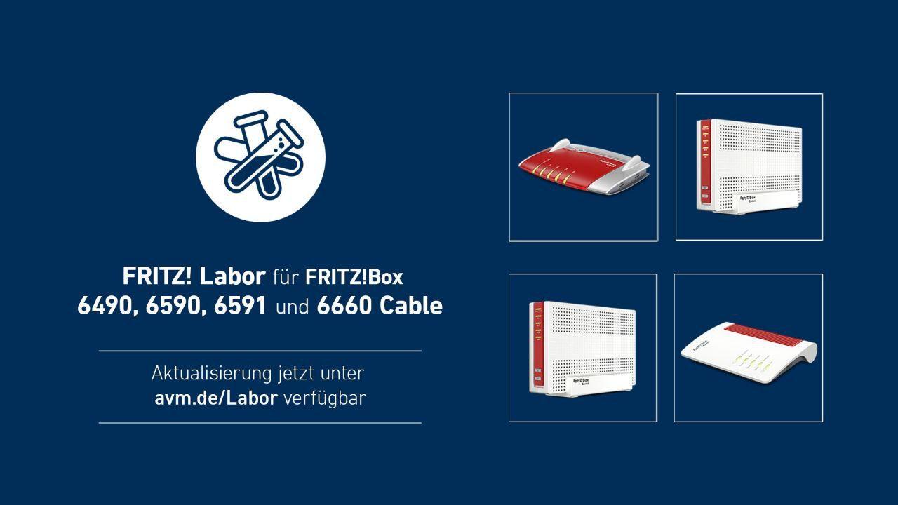 FRITZBox 20, 20, 20 und 20 Cable mit einem neuen Labor ...